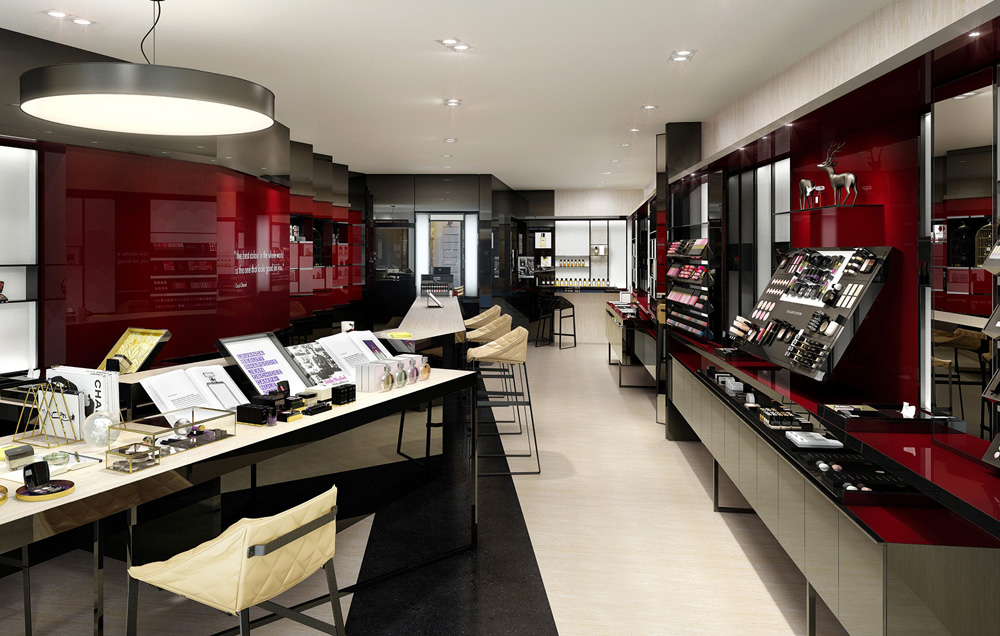 Chanel Beauty Boutique Opens In Florence