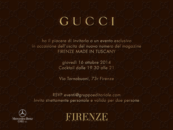 Firenze made in tuscany exclusive event firenze made in tuscany on the occasion of the new issue of the magazine firenze made in tuscany thursday october 16 at 730 pm there will be an exclusive cocktail party stopboris Choice Image