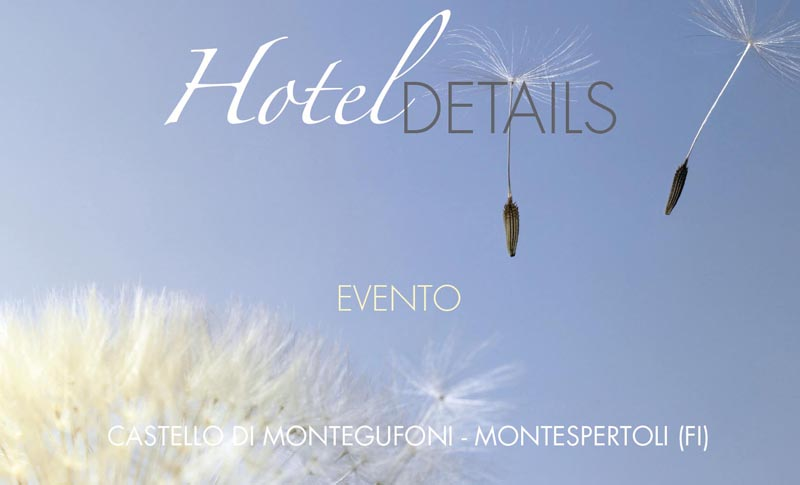 Hotel Details at the Castle of Montegufoni
