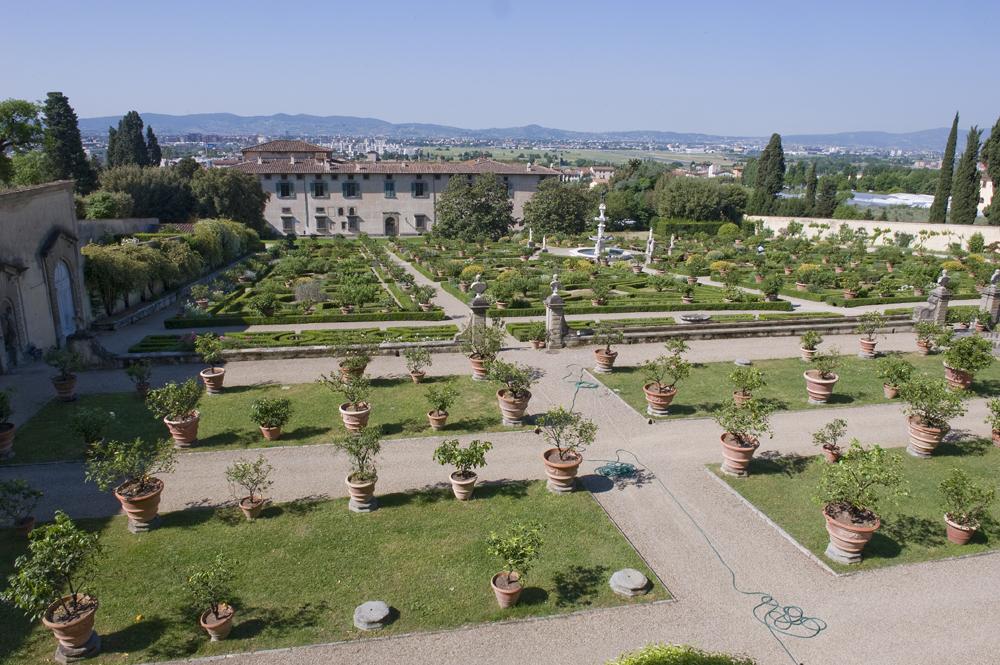 Le ville e i giardini medicei patrimonio unesco firenze - Giardini per ville ...