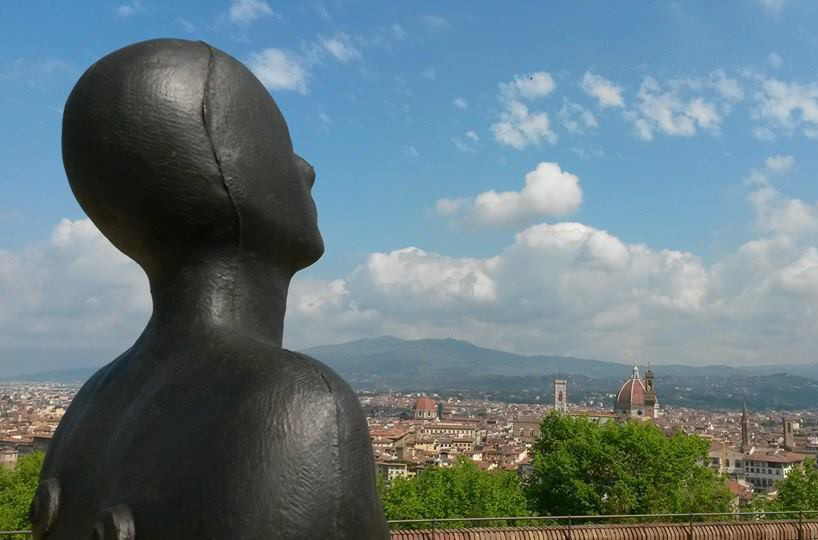 Antony Gormley and his Florence exhibition
