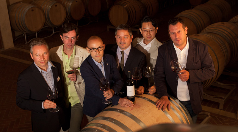 The great sommeliers in Tuscany
