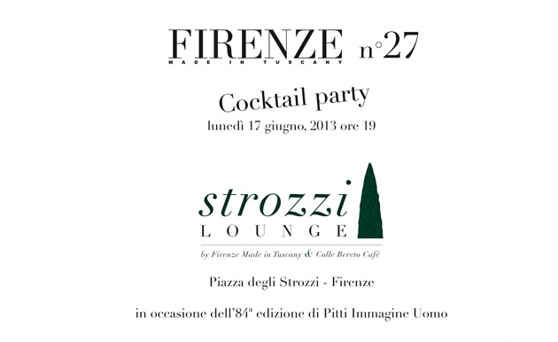 Firenze Made in Tuscany Magazine n.27 Cocktail Party