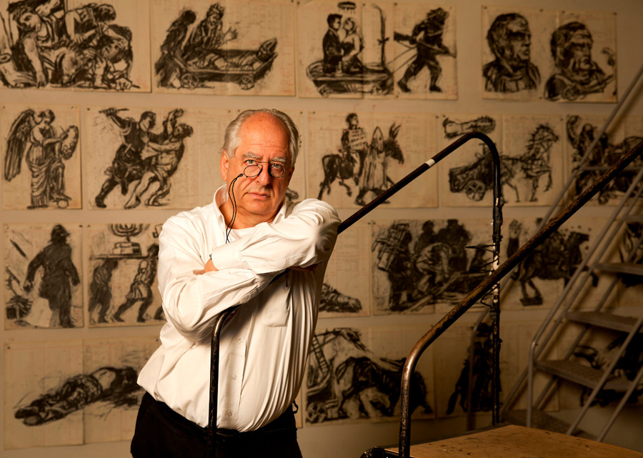 William Kentridge a Firenze