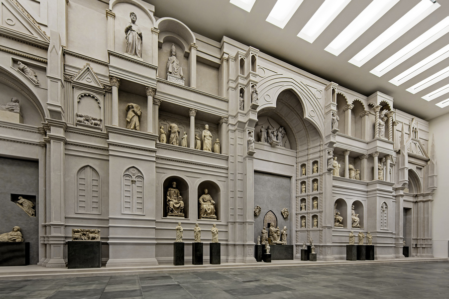 The New Museo dell'Opera del Duomo of Florence
