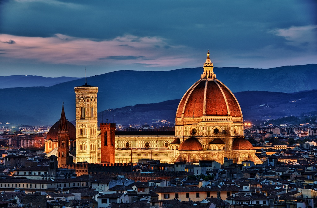 the white night in florence