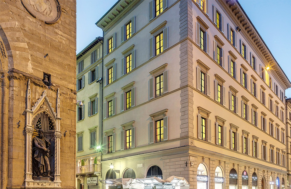 Prestigious projects in the heart of Florence: Palazzo Calzaiuoli