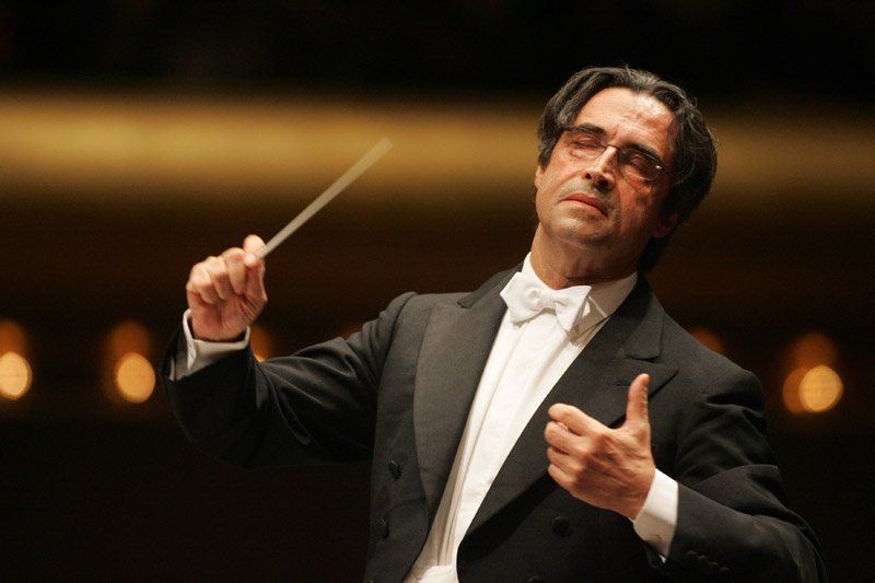 Riccardo Muti at Opera House in Florence