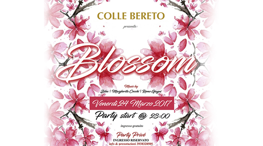 Blossom Party al Colle Bereto