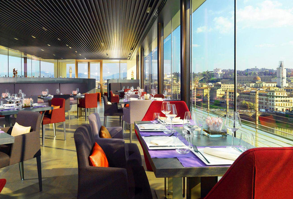 Il Rooftop Bar & Restaurant SE·STO on Arno del The Westin Excelsior Florence