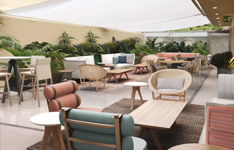 the new terrace of luisaviaroma - firenze made in tuscany