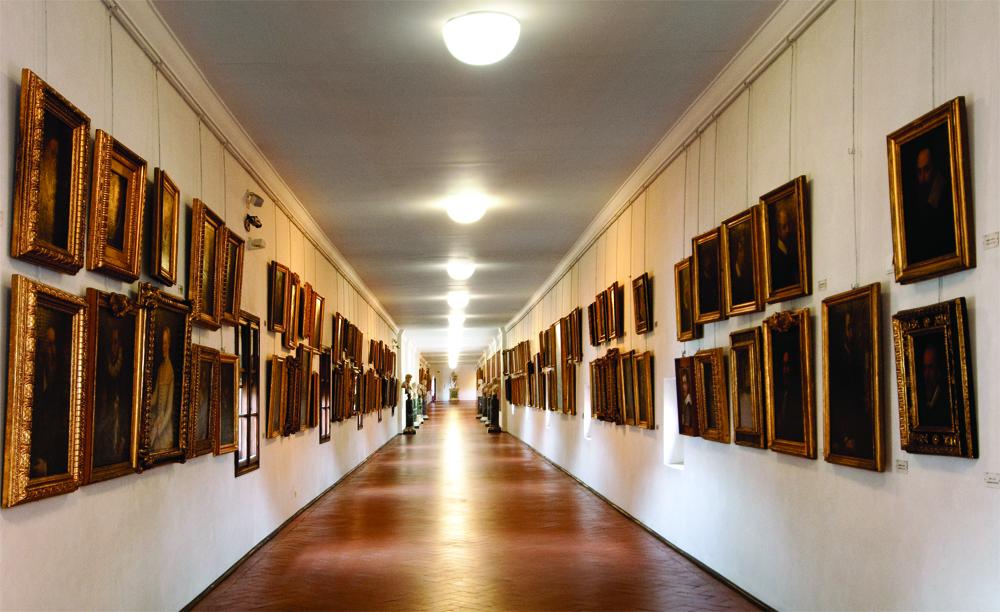 Il corridoio vasariano raccontato da antonio natali - Il tappeto del corridoio ...