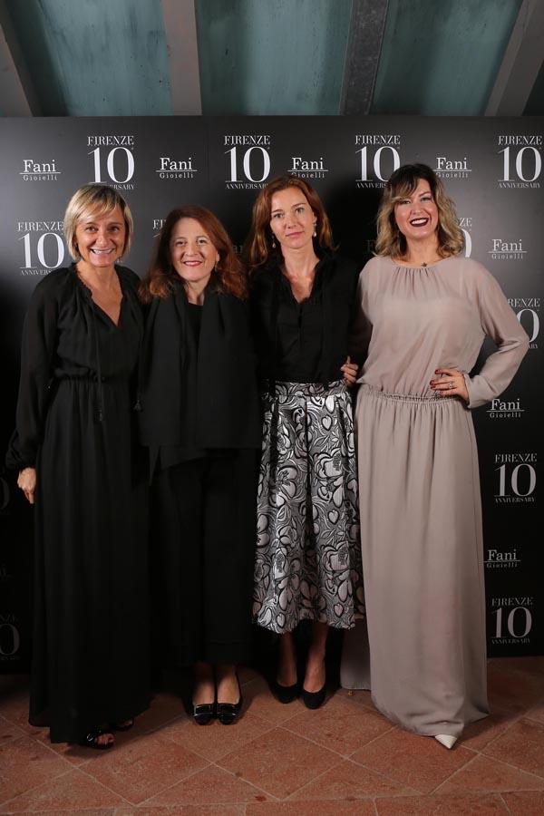 Patria Panchetti, Cristina Giachi, Susanna Torrigiani, Rachele Montella