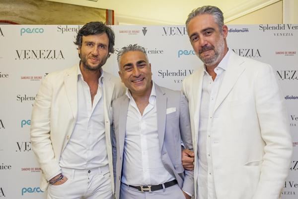 Alex Vittorio Lana, Salvatore Pisani, Matteo Parigi Bini