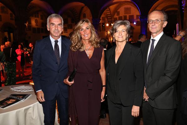 Luca and Ornella Pontello, Giorgio and Annalisa Giovannardi
