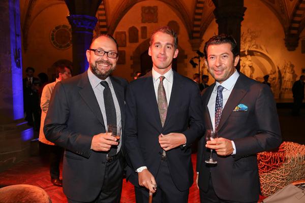 Riccardo Bacarelli, Fabrizio Moretti, Fabio Bechelli