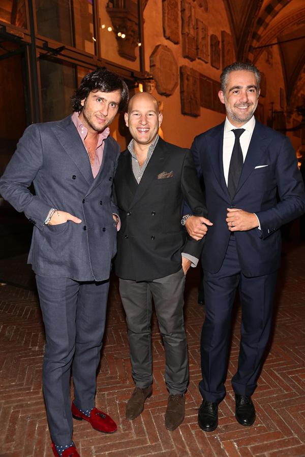 Alex Vittorio Lana, Ori Kafri and Matteo Parigi Bini
