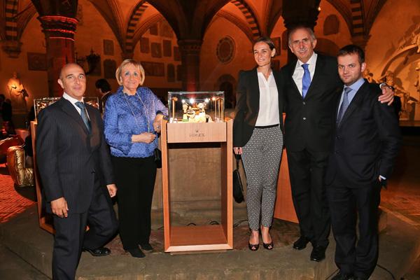Filippo and Mariagrazia Cassetti, Daniela Benvenuti, Andrea and Lorenzo Cassetti