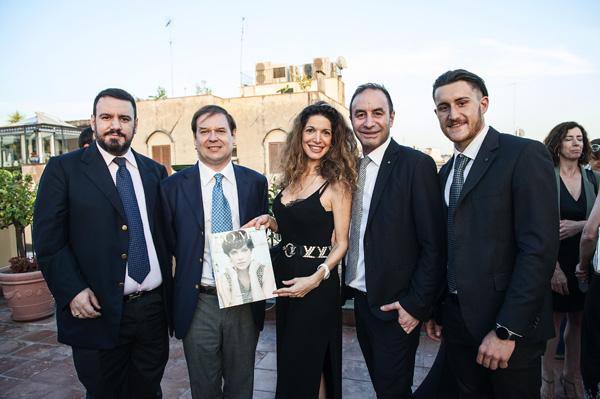 Guglielmo Marconi Giovanelli, Giuseppe Pietrafesa, Maria Moser, Gianvito Mentari
