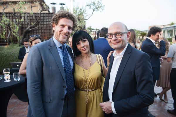 Federico La Badessa, Anita Lomastro, Paolo Lanzoni