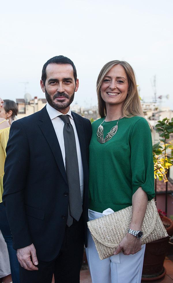 Alessandro Pinna, Marta Olivari