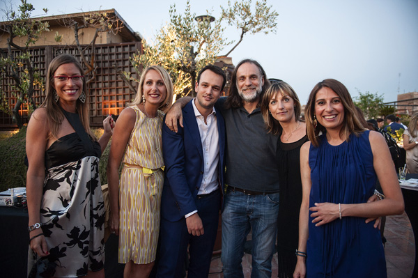 Alessia Turlon,Viviana Minaudo, Serena Marzucchi, Filippo Castellani, Mauro Rosati