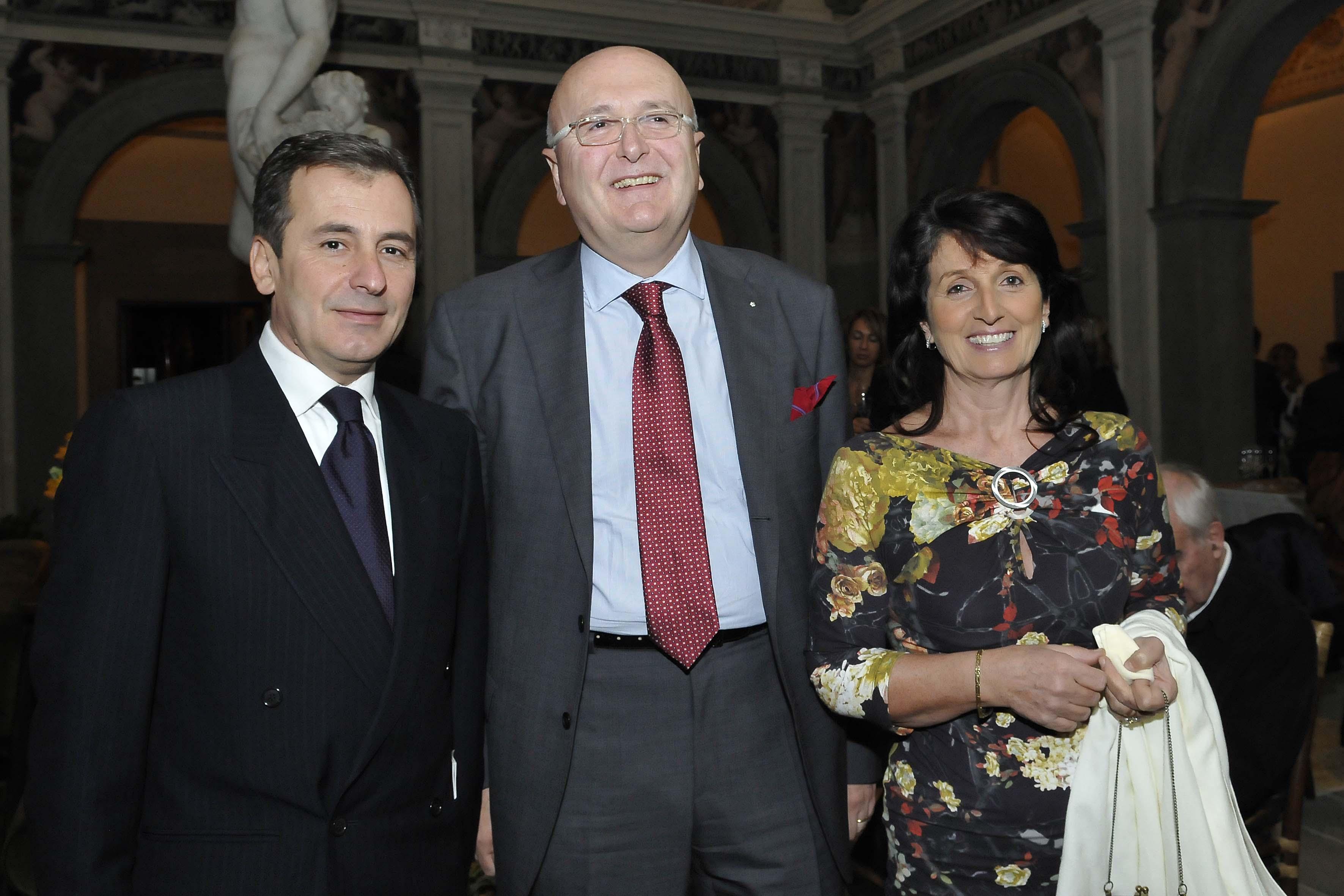 Pasquale Garina,Franco Vannini, Cristina Marinelli