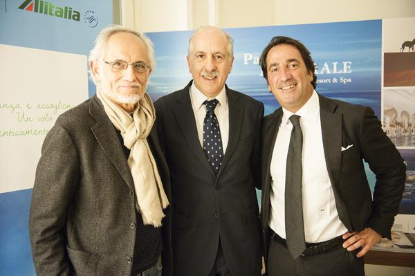 Paolo Iacopini, Lucio Messina, Andrea Vannucci