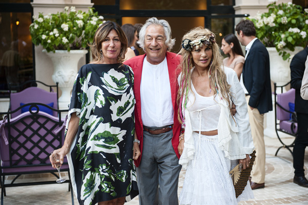 Nicoletta and Eugenio Sgaravatti, Olimpia Orsini