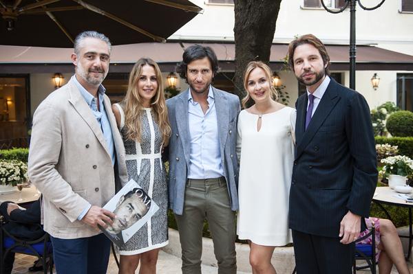 Matteo Parigi Bini, Nicole Morgano, Alex Vittorio Lana, Manuela Morgano, Ugo Ossani