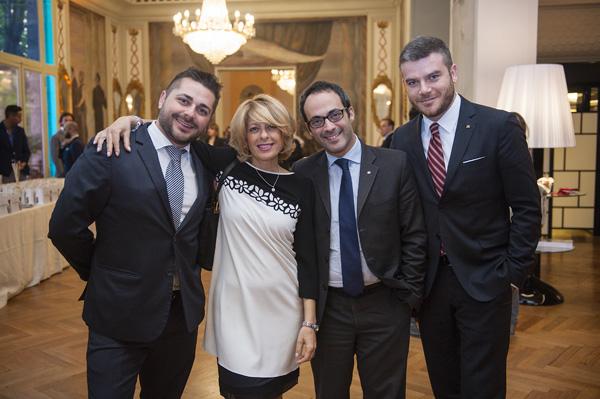 Nino Tropea, Paola Paciotti, Benedetto Consiglio, Giulio Belsito