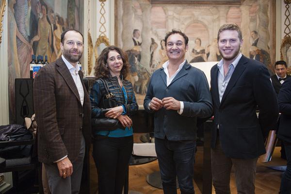Massimo Sarandrea, Adriana Capriotti, Marco Lemmi, Davide Morroni