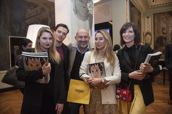 Arianna Ciaralli, Mauro Conte,  Matteo Cassanelli, Vittoria Scotto, Giulia Pesciaroli