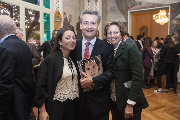 Marta Buccellati, Andrea and Ludovica Longinotti