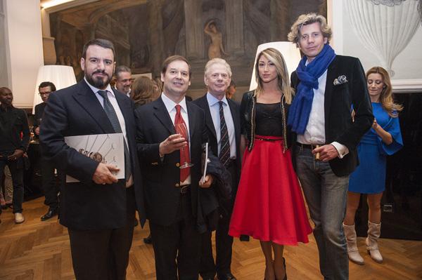 Guglielmo Giovanelli, Giuseppe Ferrajoli, Guido Boni, Silvia Ruzzoli, Marchese Filippo Ferri