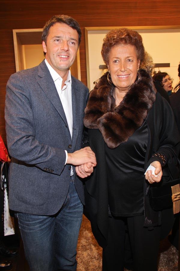 Matteo Renzi, Carla Fendi
