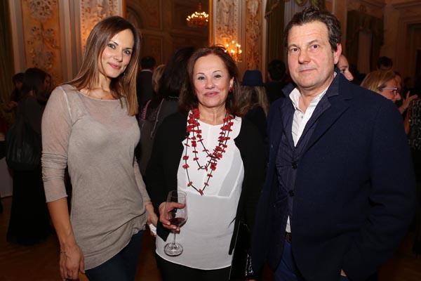 Matilde Calamai, Letizia Merani e Enrico Bardelli