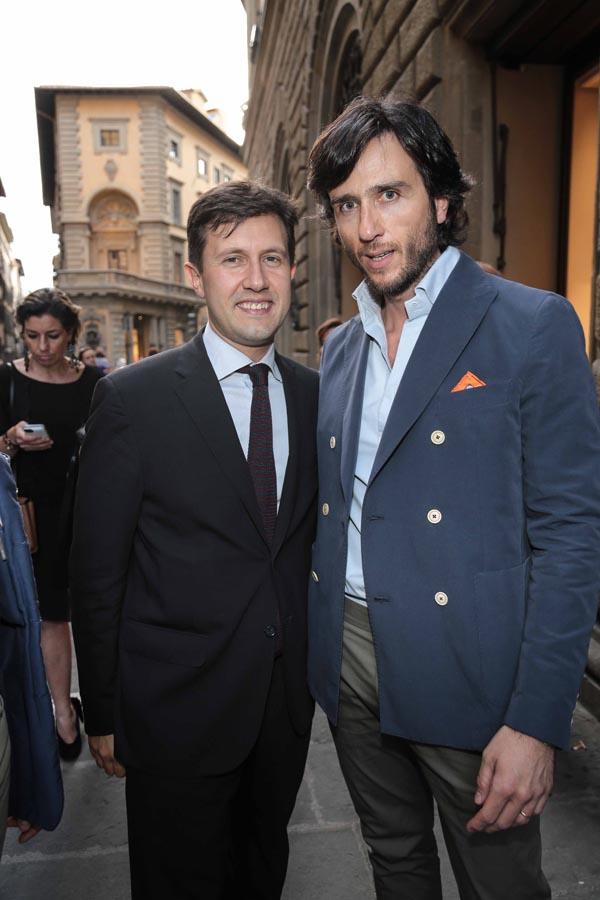 Dario Nardella e Alex V. Lana