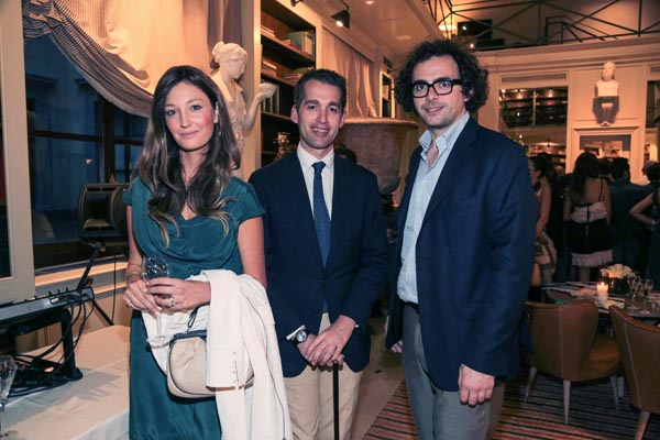 Lucrezia Carrega, Fabrizio Moretti, Francesco Ortensi