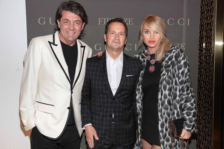 Gianni and Paola Ricci, Antonio Bossio  Giuseppe cabras/new pressphoto