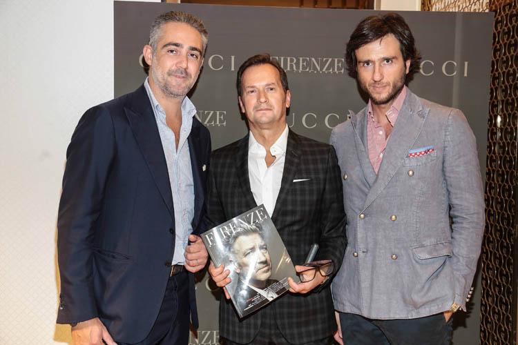 Matteo Parigi Bini, Antonio Bossio, Alex Vittorio Lana