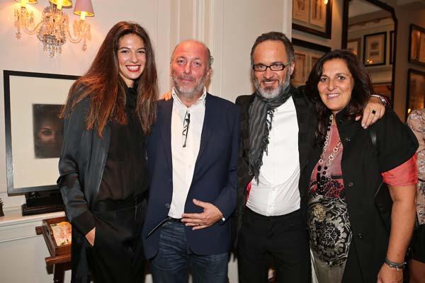 Giorgia Truzzi, Dino Natale, Andrea Martinelli, Giovanna Becherucci
