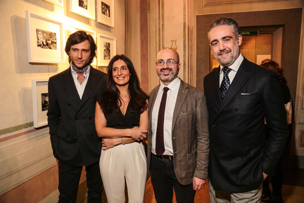 Alex Vittorio Lana, Erika Ghilardi, Giovanni Bettarini, Matteo Parigi Bini