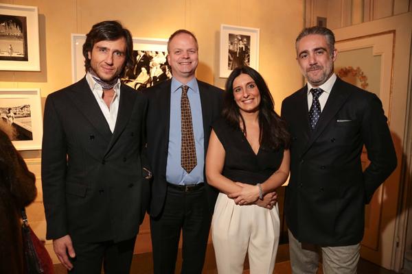 Alex Vittorio Lana, Eike Schmidt, Erika Ghilardi, Matteo Parigi Bini