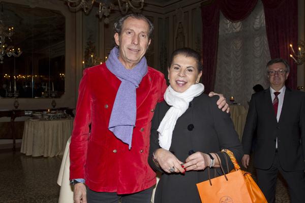 Tommaso and Giovanna D'Ambrosio