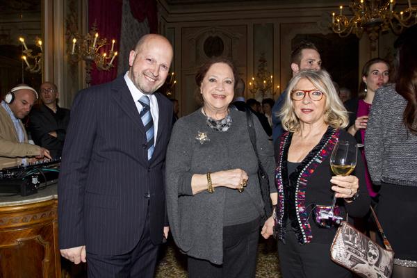 Gian Matteo Zampieri, Luciana Boccardi, Titti Pedone