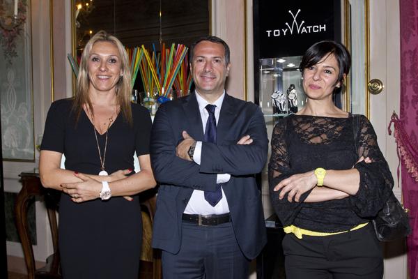 Michela Rossi, Fabio Greggio, Sabrina Cardi
