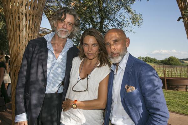 Gelasio Gaetani, Aline Coquelle, Enrico Chiavacci