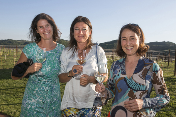 Alessia, Allegra and Albiera Antinori