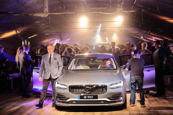 New  Volvo V90 e S90